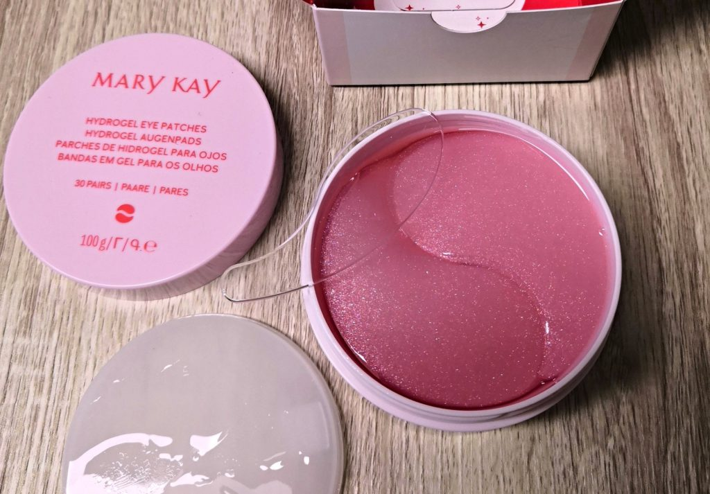 Mary Kay, recenze kosmetiky, testování kosmetiky, hydrogelové oční polštářky, oční maska