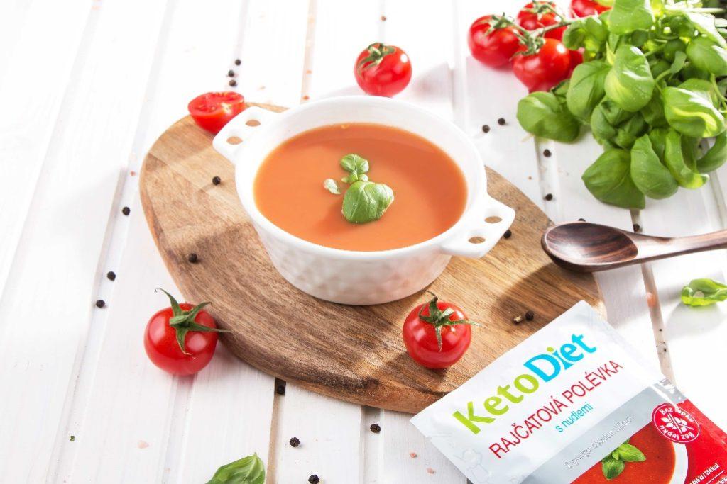 Keto dieta – rajčatová polévka s nudlemi 7 porcí – KetoDiet.cz